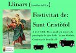 LLINARS (Castellar del Riu) FESTIVITAT DE SANT CRISTÒFOL